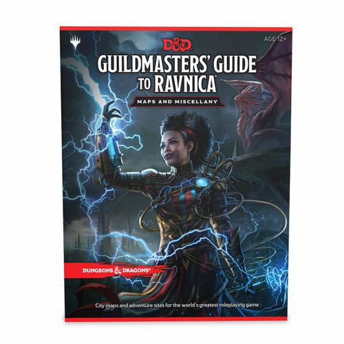 Dungeons & Dragons: Guildmaster's Guide to Ravnica - Maps & Miscellany