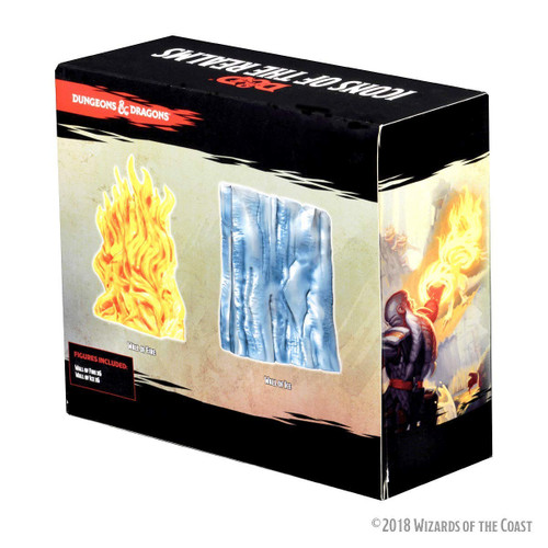 Dungeons & Dragons: Spell Effects - Wall of Fire & Wall of Ice