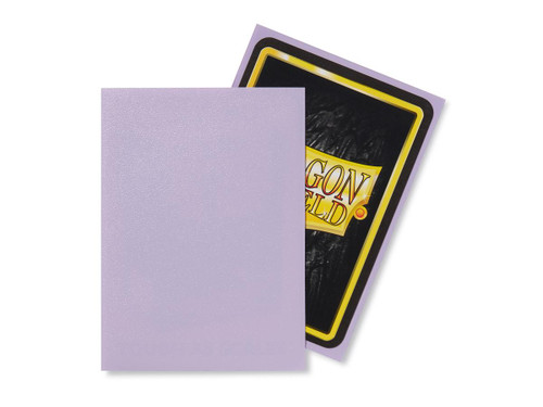 Dragon Shield: Standard Card Sleeves - Matte Lilac (100 ct)