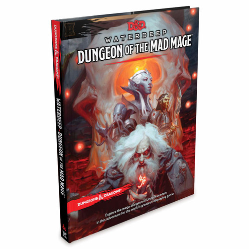 Dungeons & Dragons 5th Edition RPG: Waterdeep - Dungeon of the Mad Mage (Hardcover)