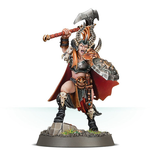 Warhammer Age of Sigmar: Slaves of Darkness - Darkoath Warqueen Marakarr Blood-sky