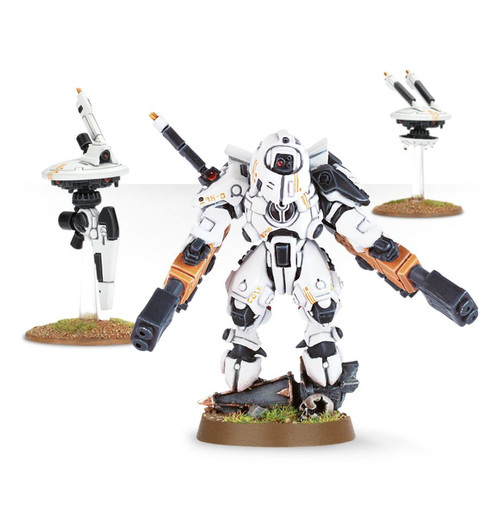 Warhammer 40K: Tau Empire - Commander Shadowsun