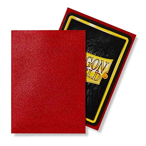 Dragon Shield: Standard Card Sleeves - Matte Ruby (100 ct)