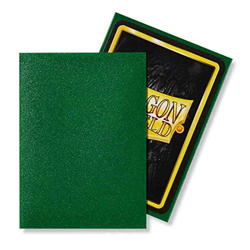 Dragon Shield: Standard Card Sleeves - Matte Emerald (100 ct)