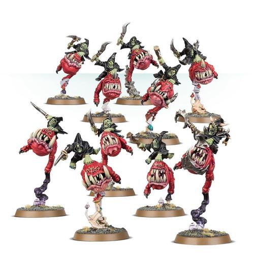 Warhammer Age of Sigmar: Gloomspite Gitz - Squig Hoppers