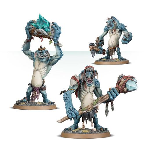 Warhammer Age of Sigmar: Gloomspite Gitz - Rockgut Troggoths