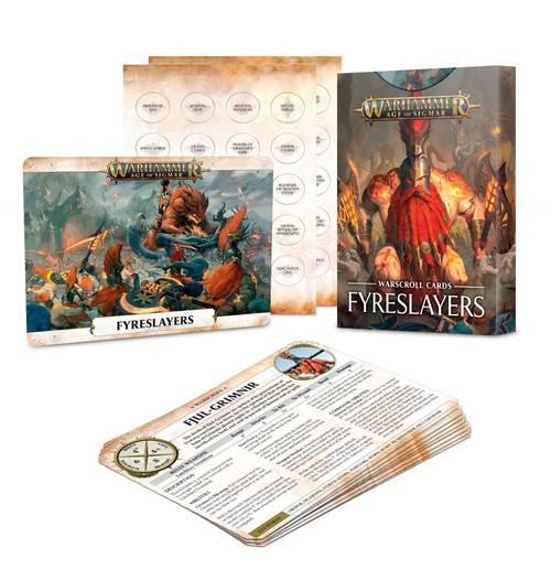 Warhammer Age of Sigmar: Warscroll Cards - Fyreslayers