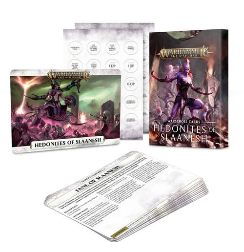 Warhammer Age of Sigmar: Warscrolls - Hedonites of Slaanesh