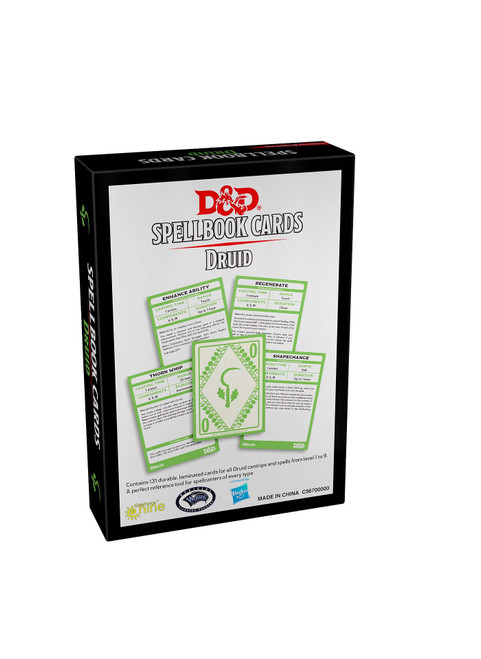 Dungeons and Dragons 5th Edition RPG: Spellbook Cards - Druid