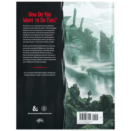 Dungeons & Dragons: The Explorer's Guide to Wildemount