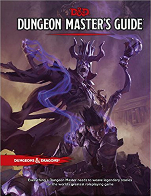 Dungeons & Dragons 5th Edition RPG: Dungeon Master's Guide (Hardcover)