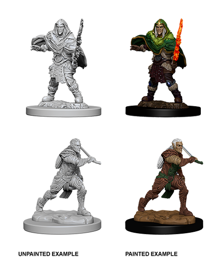 3x fighter Fit For Dungeons /& Dragon D/&D Toys Marvelous Miniatures figure #O