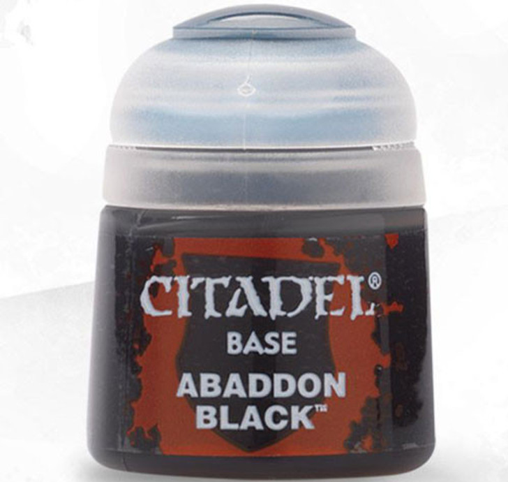 Citadel: Base Paint - Abaddon Black (12ml)