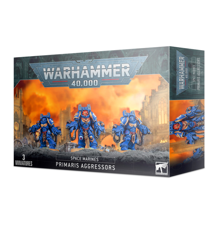 Warhammer 40K: Space Marines - Primaris Aggressors