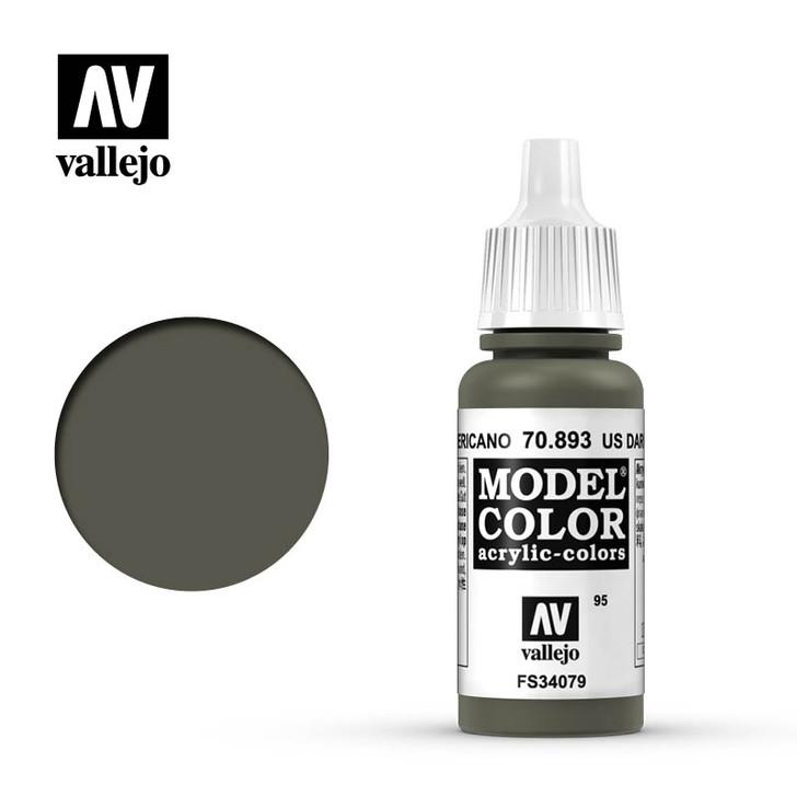 Vallejo: Model Color - US Dark Green (17ml)