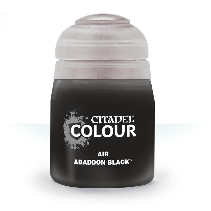 Citadel: Airbrush Paint - Abaddon Black (24ml)
