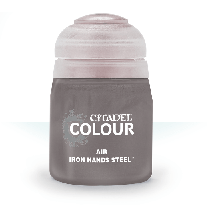 Citadel: Airbrush Paint - Iron Hands Steel (24ml)