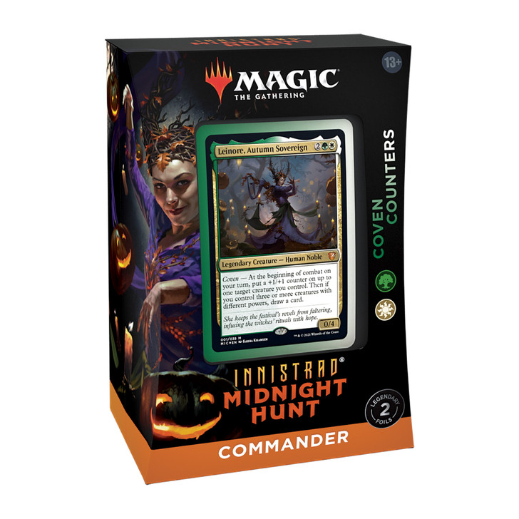 Magic the Gathering: Innistrad Midnight Hunt - Commander Deck (Coven Counters)