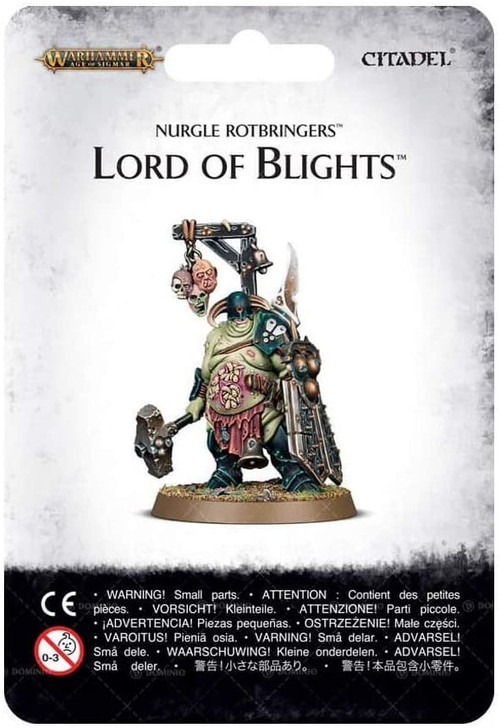 Warhammer Age of Sigmar: Nurgle Rotbringers - Lord of Blights