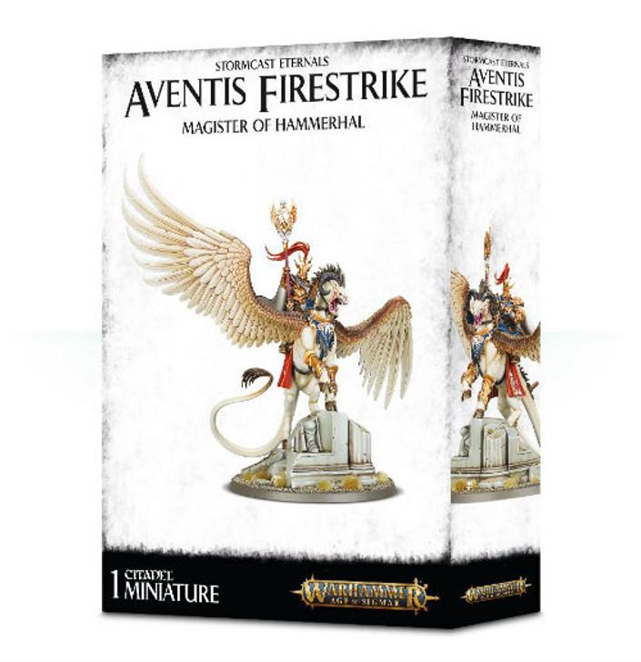 Warhammer Age of Sigmar: Stormcast Eternals - Aventis Firestrike, Magister of Hammerhal