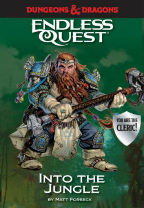 Dungeons & Dragons RPG: An Endless Quest Adventure - Into the Jungle (Hardcover)
