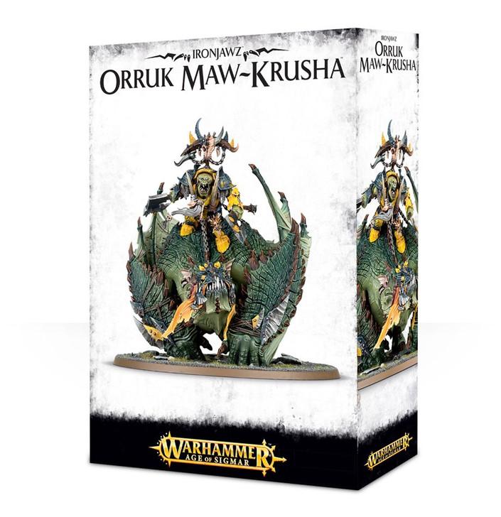 Warhammer Age of Sigmar: Orruck Warclans - Megaboss on Maw-krusha
