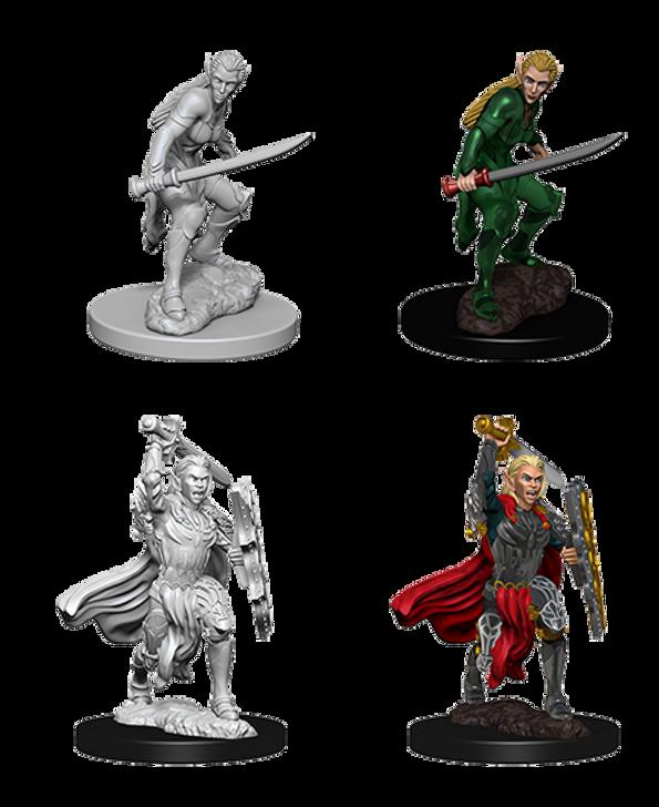 D&D Nolzur's Marvelous Miniatures: Female Elf Fighter (Wave 6)