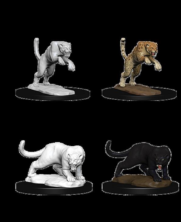 D&D Nolzur's Marvelous Miniatures: Panther & Leopard (Wave 6)
