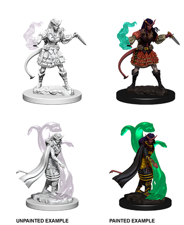 D&D Nolzur's Marvelous Miniatures: Female Tiefling Sorcerer (Wave 4)