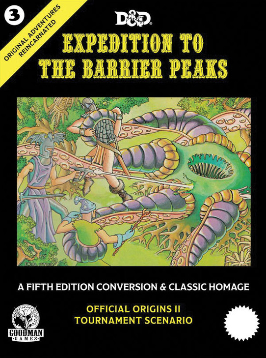 D&D: Original Adventures Reincarnated #3 -  Expedition to the Barrier Peaks