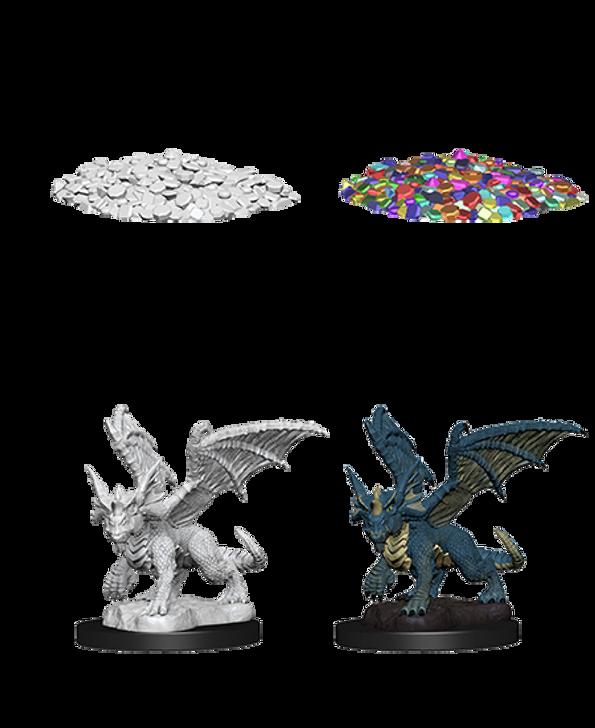 D&D Nolzur's Marvelous Miniatures: Blue Dragon Wyrmling (Wave 10)