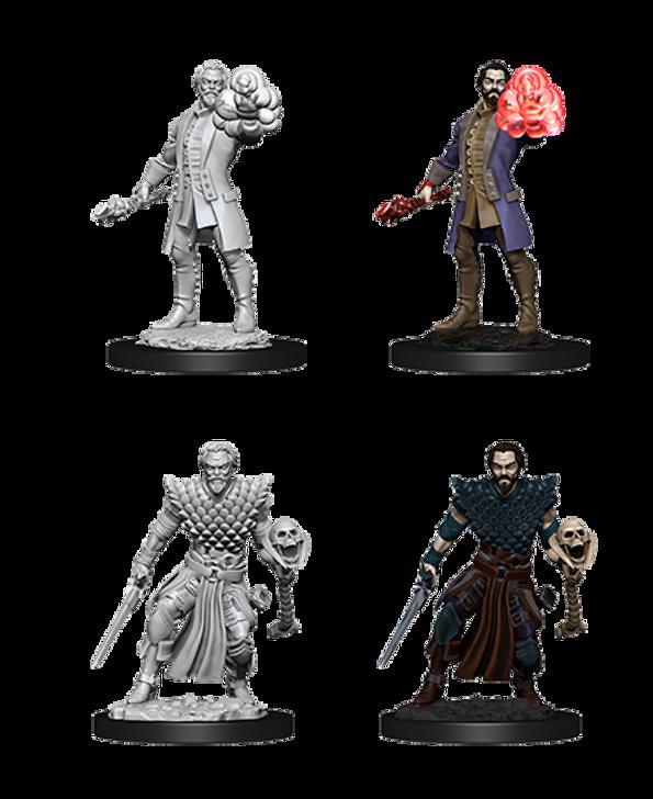 D&D Nolzur's Marvelous Miniatures: Male Human Warlock (Wave 10)