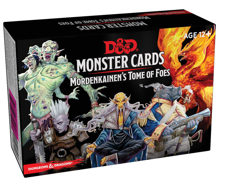 Dungeons and Dragons 5th Edition RPG: Monster Cards - Mordenkainen's Tome of Foes