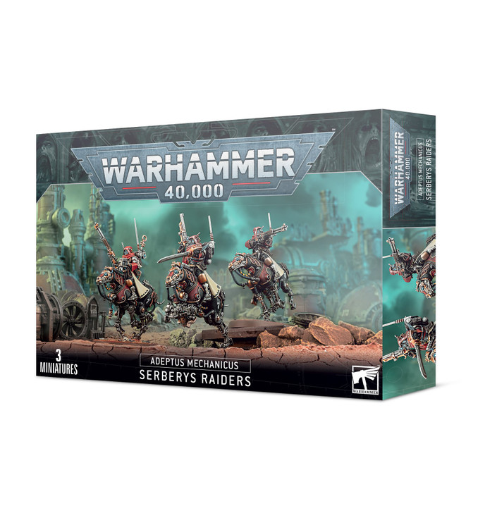 Warhammer 40K: Adeptus Mechanicus - Serberys Raiders