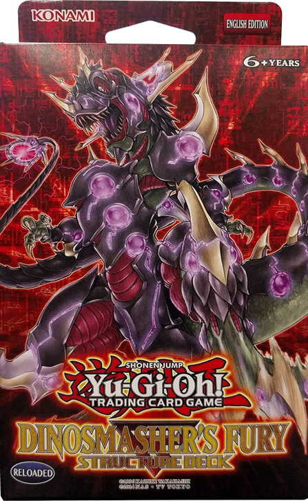 Yu-Gi-Oh! Dinosmasher's Fury - Structure Deck
