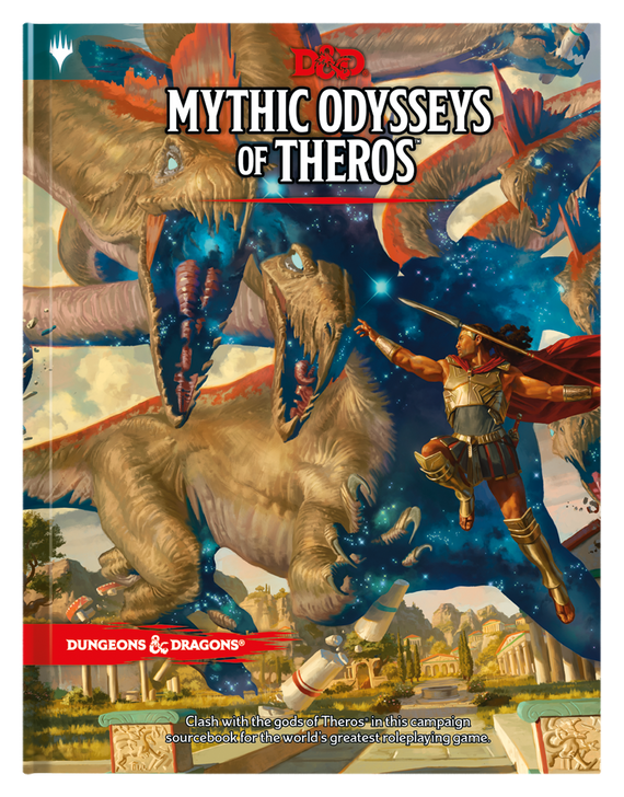 Dungeons & Dragons 5th Edition RPG: Mythic Odysseys of Theros (Hardcover)