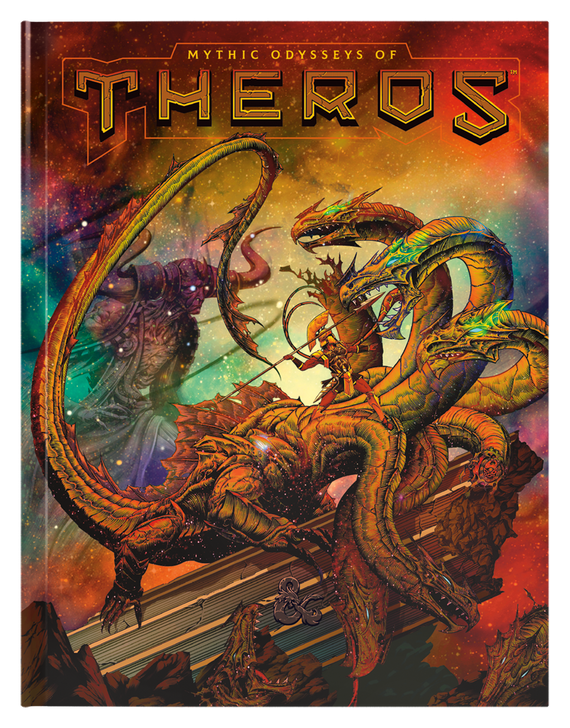 Dungeons & Dragons 5th Edition RPG: Mythic Odysseys of Theros Alternate Cover (Hardcover)