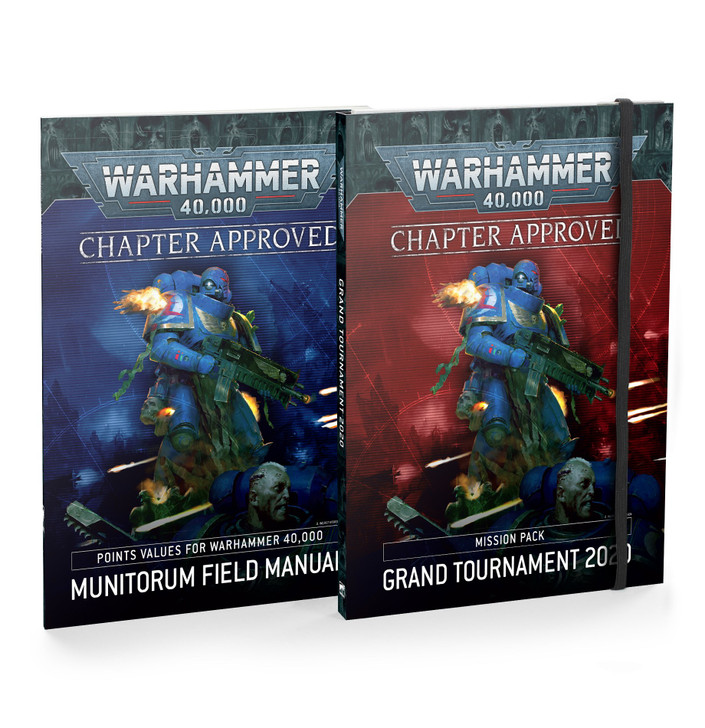 Warhammer 40K: 9th Edition Chapter Approved 2020 - Grand Tournament 2020 Mission Pack and Munitorum Field Manual (Softcover)