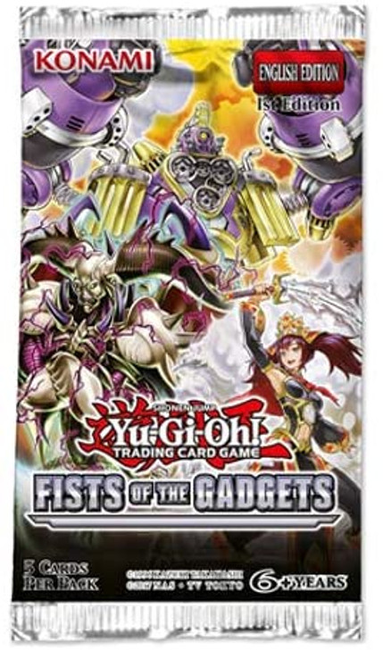 Yu-Gi-Oh! Fists of the Gadgets - Booster Pack