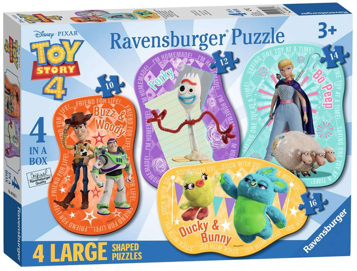 The Toys are Back! (4 Shaped Puzzles)