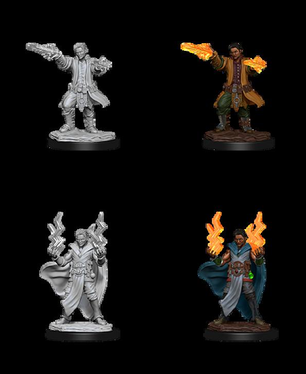 D&D Nolzur's Marvelous Miniatures: Male Human Sorcerer (Wave 12)