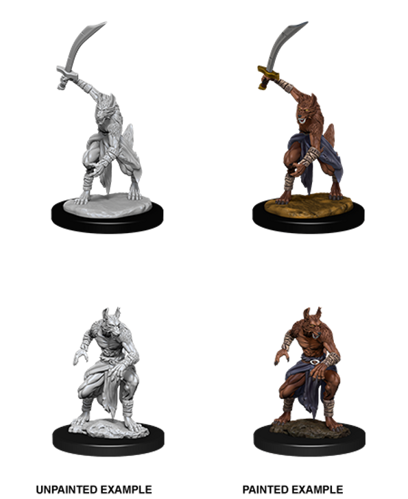 D&D Nolzur's Marvelous Miniatures: Jackalwere (Wave 12)