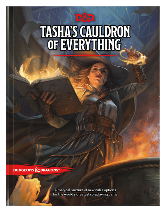 Dungeons & Dragons 5th Edition RPG: Tasha's Cauldron of Everything