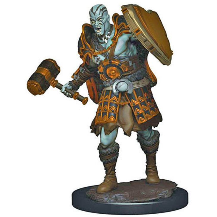 Dungeons & Dragons: Premium Painted Miniature - Male Goliath Fighter (Wave 3)
