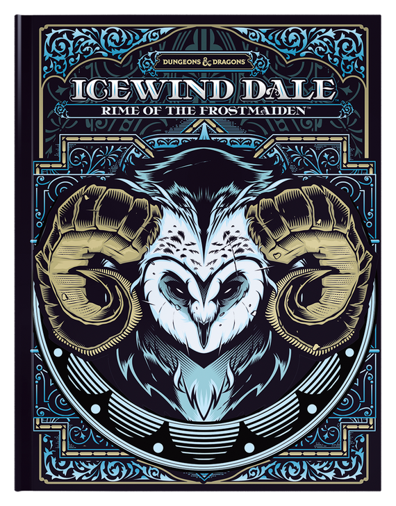 Dungeons & Dragons 5th Edition RPG: Icewind Dale: Rime of the Frostmaiden - Alternate Cover (Hardcover)
