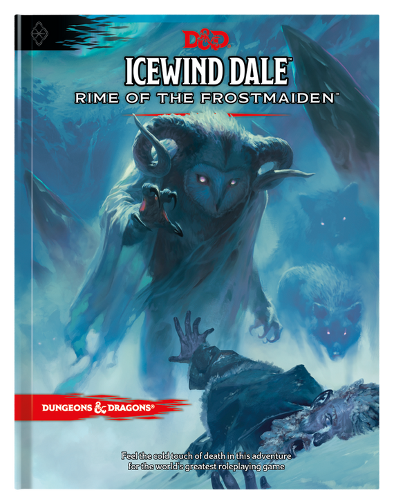 Dungeons & Dragons 5th Edition RPG: Icewind Dale: Rime of the Frostmaiden (Hardcover)