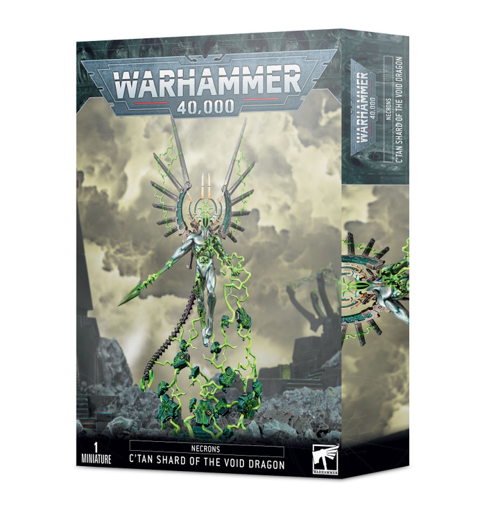 Warhammer 40K: Necrons - C'tan Shard of the Void  Dragon