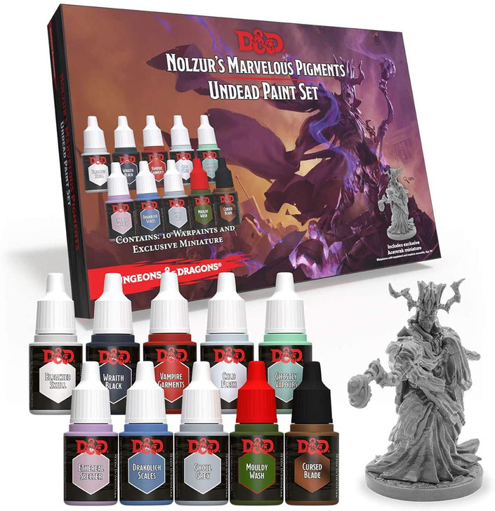 D&D Nolzur's Marvelous Pigments: Undead - Paint Set