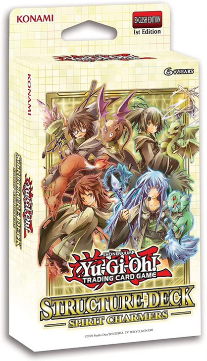 Yu-Gi-Oh! Spirit Charmers - Structure Deck