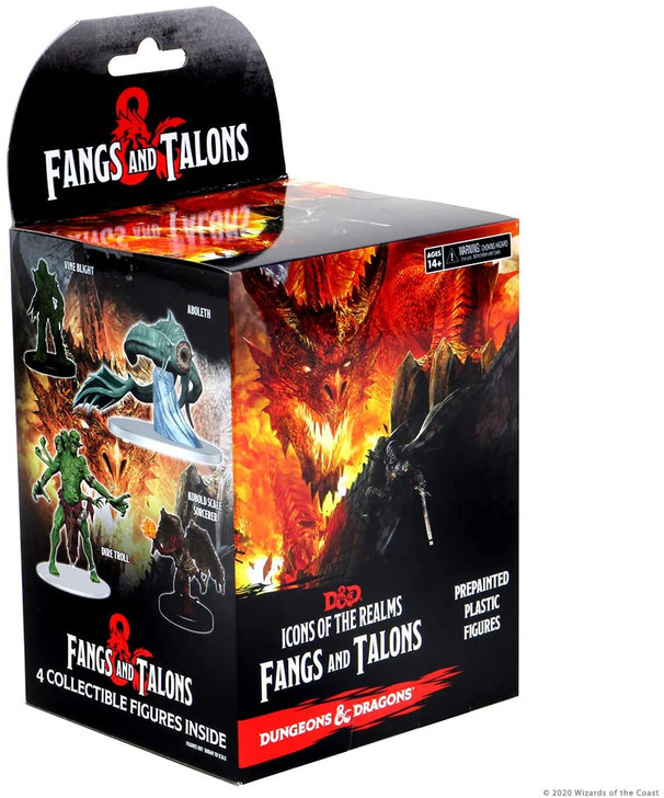 D&D Icons of the Realms Miniatures: Fangs & Talons - Booster Pack